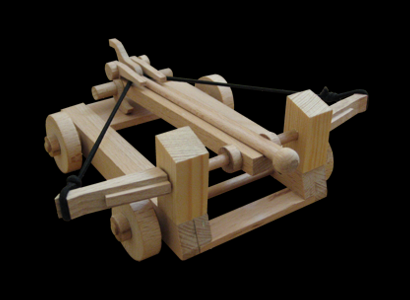 Römische Balliste Modell 001