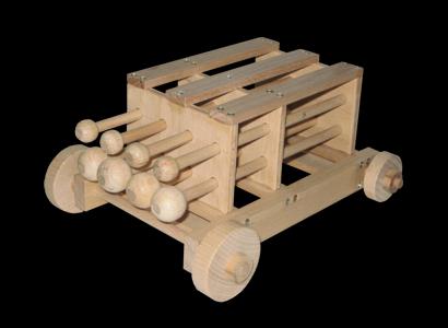 Pfeilwagen SpiculumCarrus Modell 001