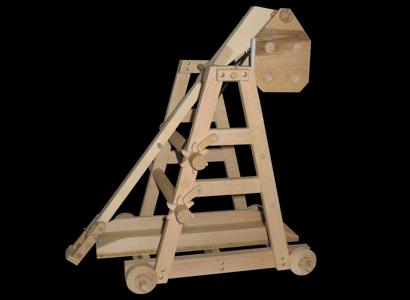 Trebuchet (Mittelalter) Modell 001