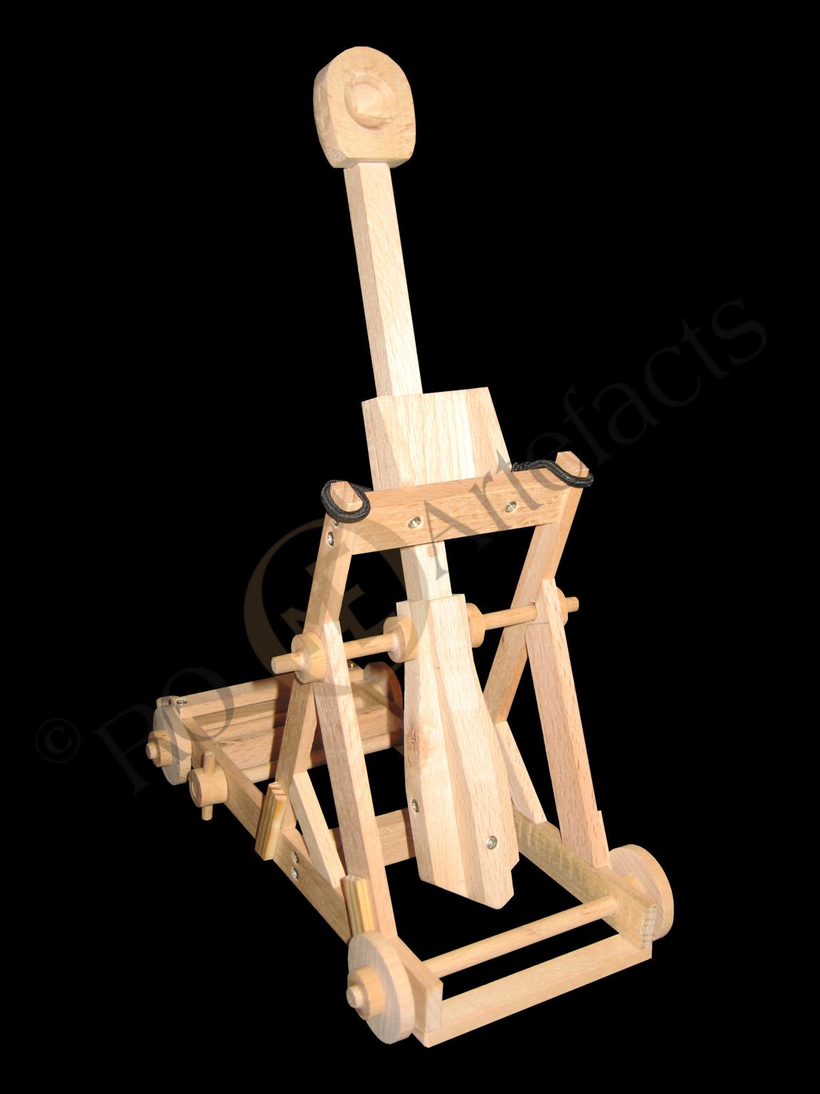 Schleuder Mangonel Modell 002