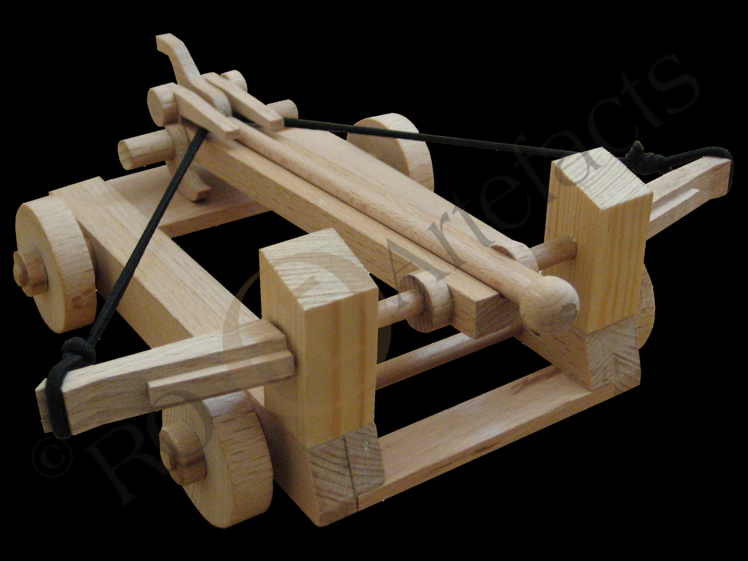 Torsionsgeschütz Römische Ballista Modell 001