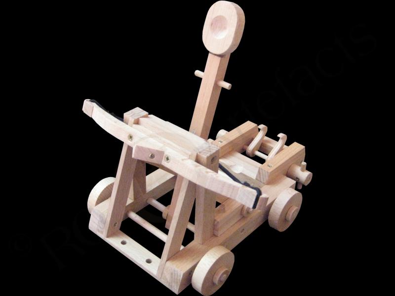 Römisches Katapult Modell 001
