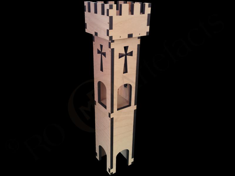 Burgturm Modell 2
