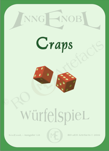 Craps Würfelspiel
