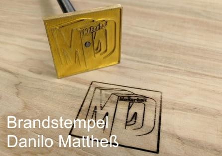 Brandstempel Danilo Mattheß Dresden